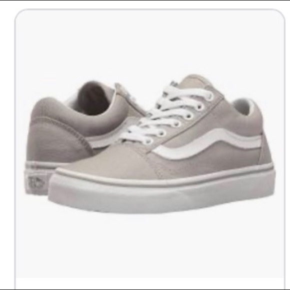 Vans Shoes | Grey Lace Up | Poshmark